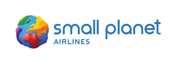 image of small planet airlines logo