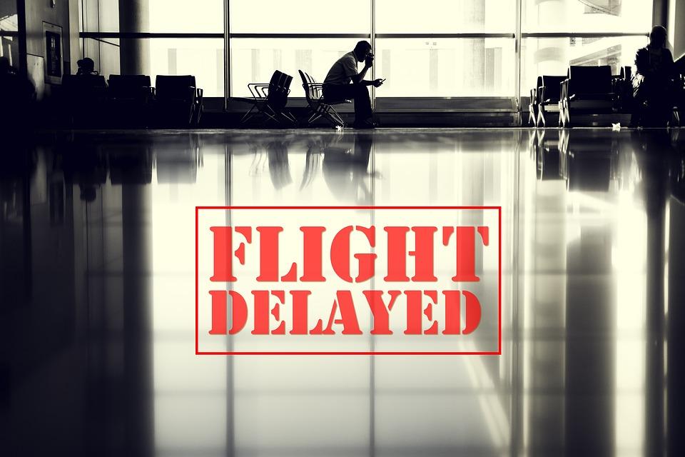 Flight delayed